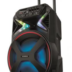 Caixa de Som Amplificada Mondial Connect Lights 400W CM-400 Bivolt