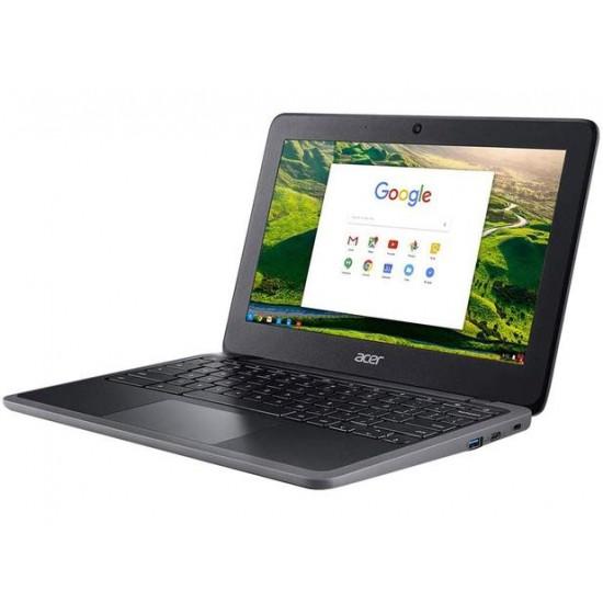Chromebook Acer Intel Celeron N4020 Tela 11.6 4GB RAM 32GB eMMC Chrome OS - C733-C607 - 2.8GHz