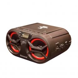 Rádio Portátil Boombox Amvox Bluetooth - FM - AMC-595 NEW 15W RMS Bivolt