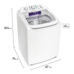 Lavadora de Roupa Electrolux 17Kg Premium Care Sem Agitador LPR17 -127v