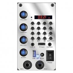 Caixa Amplificada Mondial Connect Thunder III MCO-13 Preto/Azul Bivolt