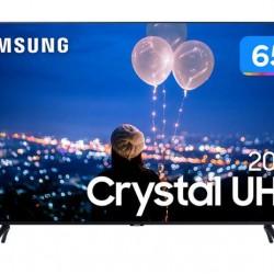 "Smart TV Crystal 4K 65"" Samsung WI-FI"