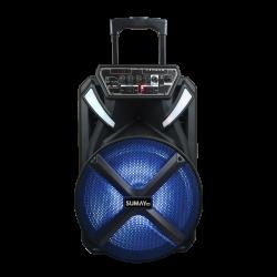 Caixa de Som Amplificada Sumay Portátil XPRIME SM-CAP22 Bivolt